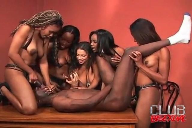 On Black girl strap