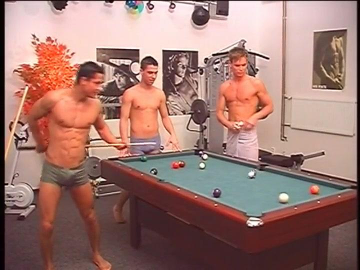 Guys playing naked