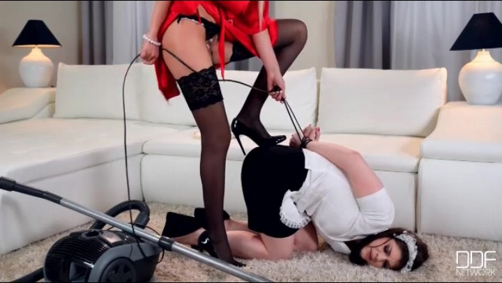 Mom Punishes Lesbian Daughter