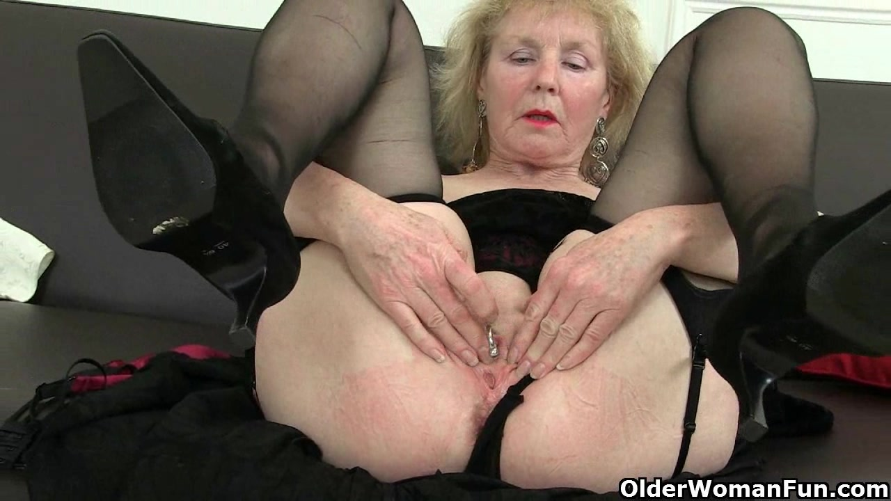 English granny porn