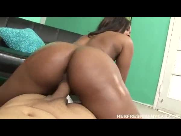 Ebony Big Booty Reverse