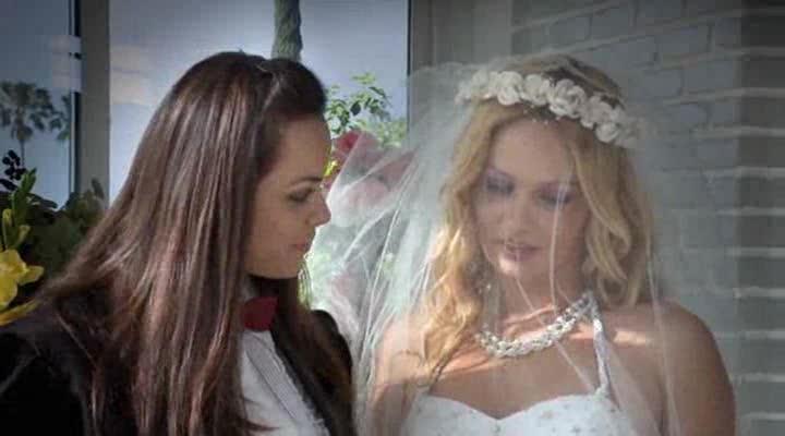 Lesbian pornos bride