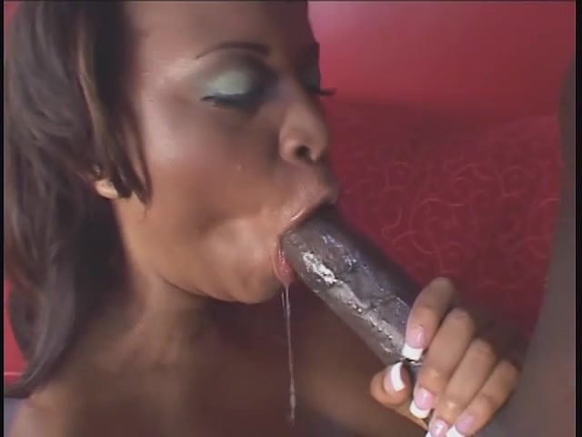 Sloppy black sex